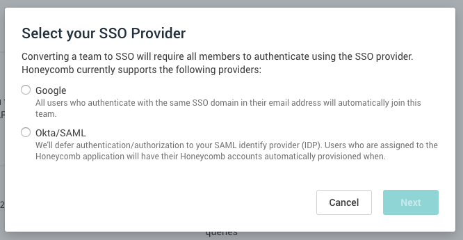 enable sso